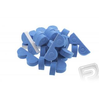 Organizér pro hadičky 4mm modrý (20ks)