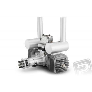 Motor DLA 116 ccm včetně tlumiče a příslušenství