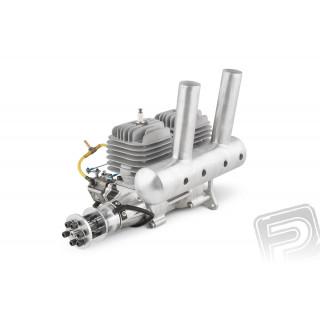 Motor DLA 116 ccm (řadový dvouválec) včetně tlumiče a příslušenství