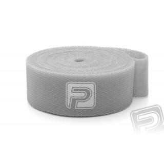 Suchý zip oboustranný 20x500mm PELIKAN šedý