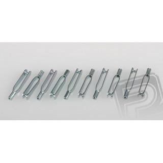 Vidlička kovová M2 10ks PEL