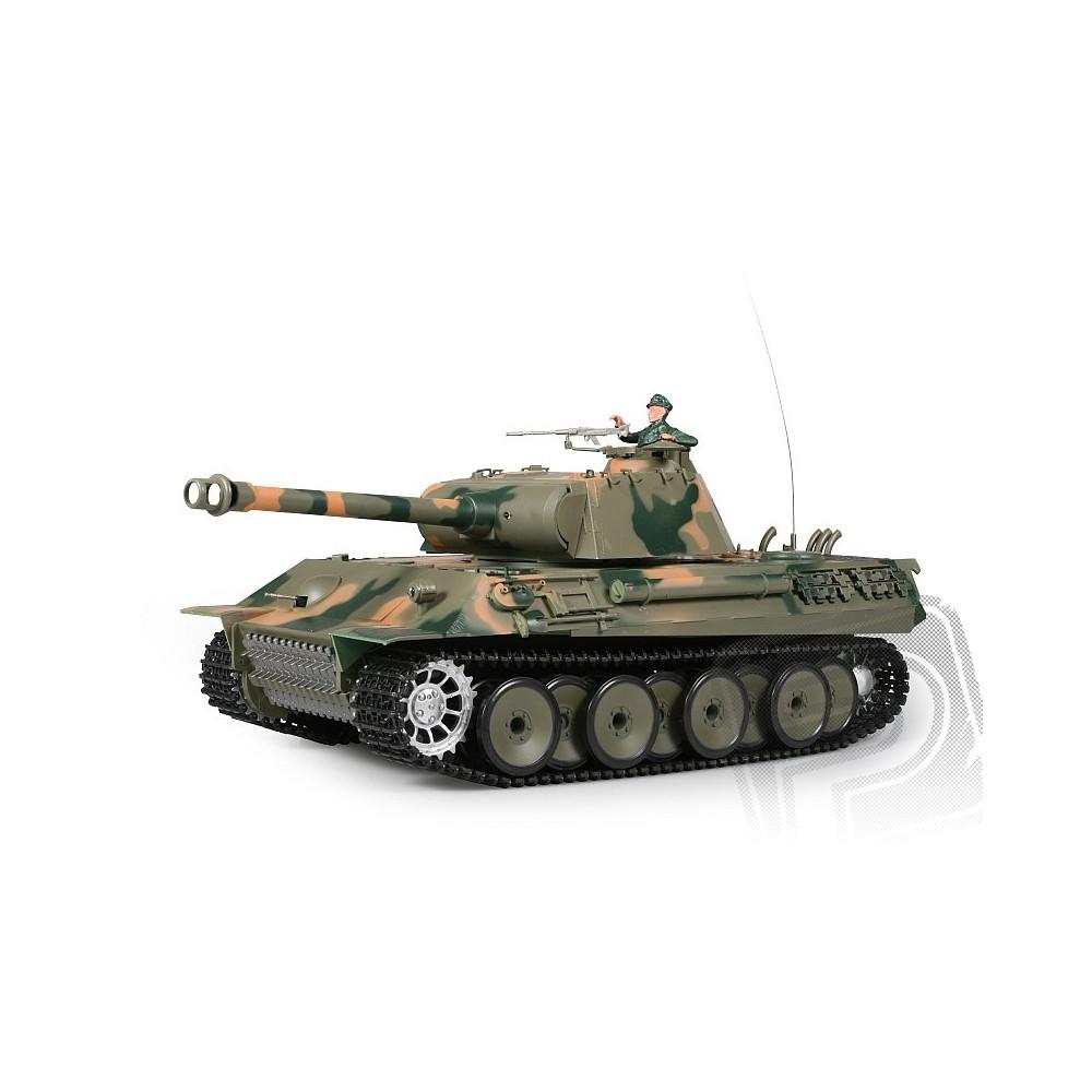 PELIKAN RC tank 1:16 GERMAN PANTHER kouř. a zvuk. efekty 2RC3819-1