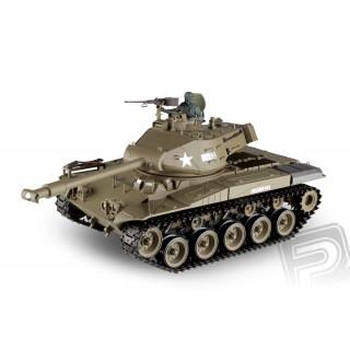 RC tank 1:16 M41A3 WALKER BULLDOG kouř. a zvuk. efekty