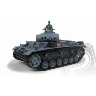 RC tank 1:16 Panzerkampfwagen III Ausf. L kouř. a zvuk. efekty