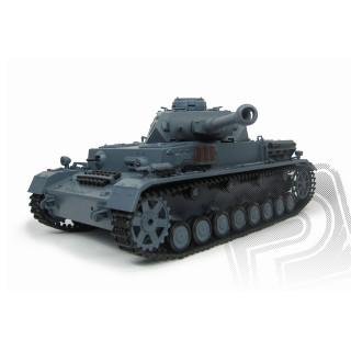 RC tank 1:16 Panzerkampfwagen IV Ausf. F-2 kouř. a zvuk. efekty