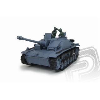 RC samohybné dělo 1:16 Sturmgeschutz III Ausf.G. kouř. a zvuk. efekty
