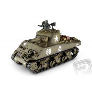 RC tank 1:16 M4A3 Sherman kouř. a zvuk. efekty