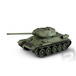 RC tank 1:16 T-34/85 RC set 2.4GHz kouř. a zvuk. efekty