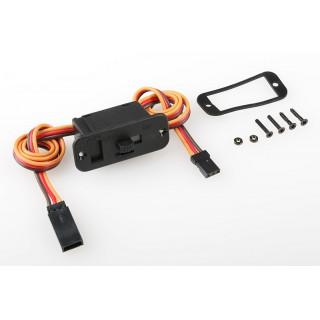 Vypínač GOLD JR/Graupner, Hitec konektor