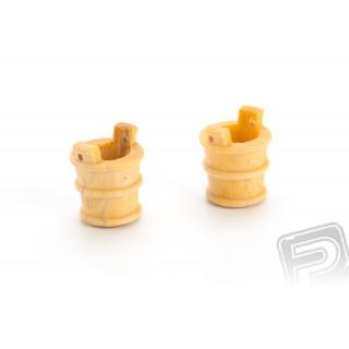 Džber dřevěný 11x13mm (2 ks)
