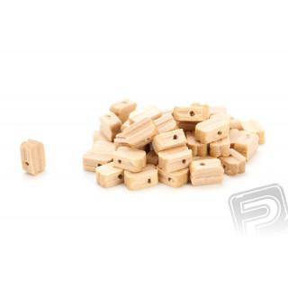 Kladka jednoduchá dřevěná 5mm (50 ks)