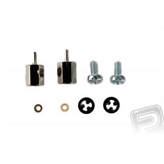 Variabilní koncovky pro drát od 0,5 do 2.0mm, 2ks