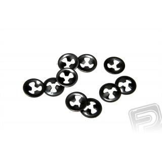 Pojistné kroužky 1mm pro variab. koncov. 3070 a 3070/10, 10ks.