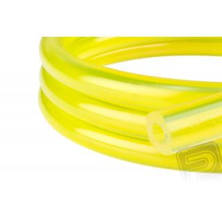 Benzínová hadička, žlutá 3 x 6 mm (1 metr)