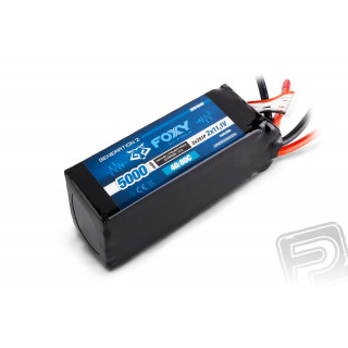 FOXY G2 - LC Li-Pol 5000mAh/22,2V 40/80C, 111Wh