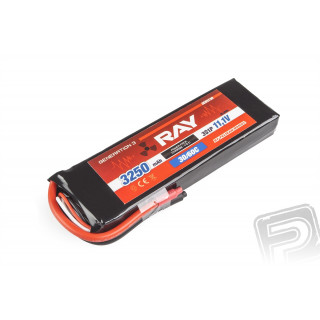 G3 - LC RAY Li-Pol 3250mAh/11,1 30/60C Air pack 36,1Wh