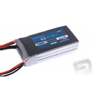 FOXY G3 - Li-Po 1000mAh/11,1V 40/80C 11,1Wh
