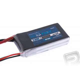 FOXY G3 - Li-Po 1300mAh/7,4V 40/80C 9,6Wh