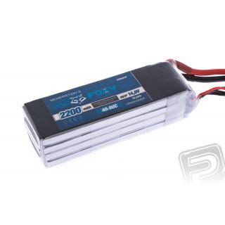 FOXY G3 - Li-Po 2200mAh/14,8V 40/80C 32,6Wh