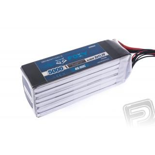 FOXY G3 - Li-Po 5000mAh/22,2V 40/80C, 111Wh