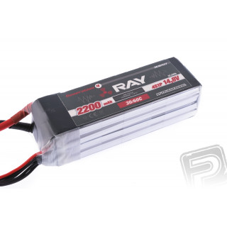 G4 RAY Li-Po 2200mAh/14.8 30/60C Air pack