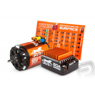SKY RC Combo Cheetah 1/10 60A regulátor s 10,5záv. motorem