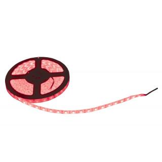 Svíticí LED páska 14,4W/m, 5m, červená