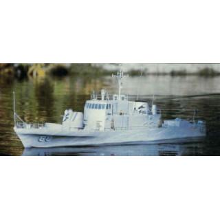 USS Crockett rychlý dělový člun 1295mm