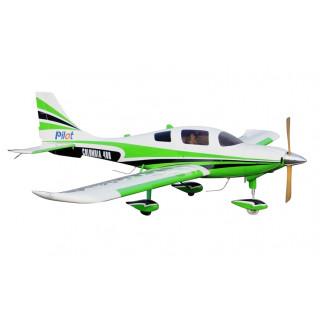 "128"" Columbia 400 scale 30% (3 250 mm) 50ccm (zeleno/bílá)"