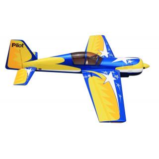 "87"" Yak 54 scale 30% (2 200 mm) 50ccm (žluto/modrá)"