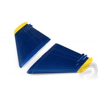 F-18 Hornet modrý - směrovka
