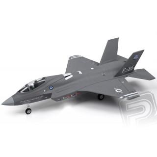 F-35 Ligthning II 715mm s EDF 64mm ARF - šedý