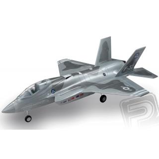 F-35 Ligthning II 715mm s EDF 64mm ARF - kamufláž