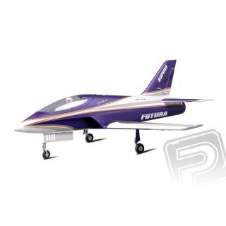 FUTURA EDF 80 mm EPO ARF fialová
