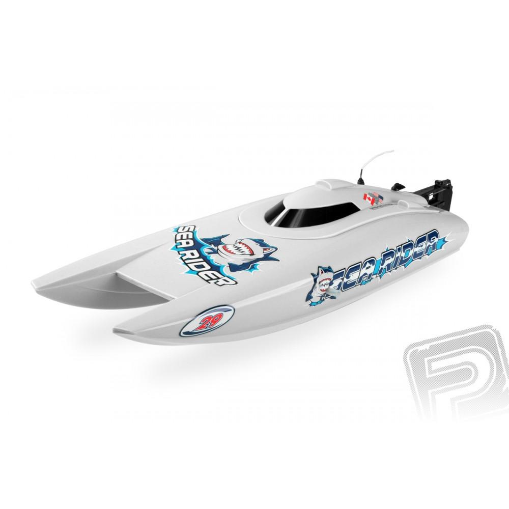 Joysway Offshore Lite Sea Rider V3 2,4Ghz RTR bílá 4ST308208G