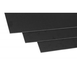 Uhlíková deska (350x150x3,0 mm) 1ks.