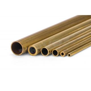 Mosazná trubička, tvrdá 4,0/2,6 mm