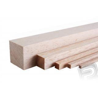 Balsová lišta 3x3x1000mm