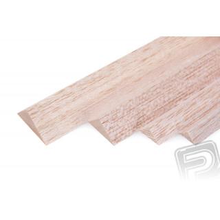 Trojúhelníková lišta 8x8x1000mm