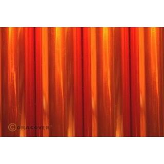 ORACOVER 2m Transparentní oranžová (69)