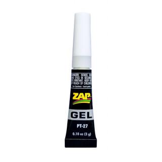 ZAP gel CA 3g (0,11oz) gelové vteřinové lepidlo