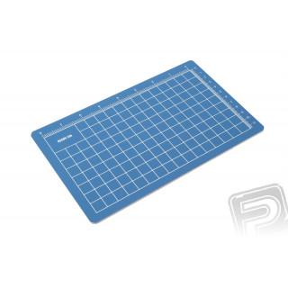 Řezací podložka 14x23cm (modrá)