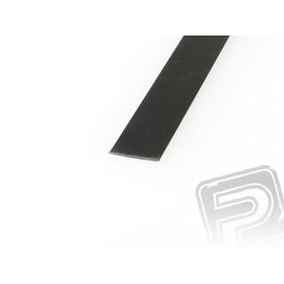 Uhlíková pásnice 0,3x30x1000 mm