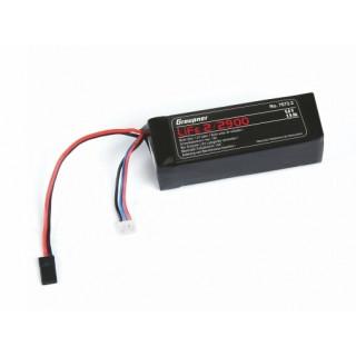 LiFe-sada RX 2/2900 6,6V s JR konektorem