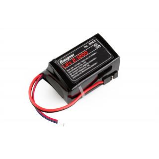 LiFe-sada RX 2/1200 6,6V s JR konektorem