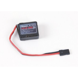 LiFe-sada RX 2/200 6,6V s JR konektorem