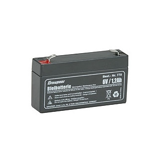 Pb akumulátor 6 V/1,2 Ah