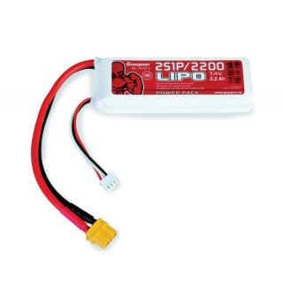 POWER PACK Li-Pol 2200mAh/7,4V 70C s XT60 konektorem
