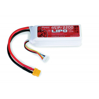 POWER PACK Li-Pol 2200mAh/14,8V 70C s XT60 konektorem