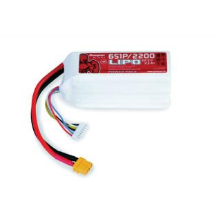 POWER PACK Li-Pol 2200mAh/22,2V 70C s XT60 konektorem